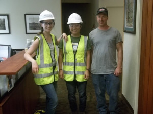 Mundell & Associates interns ready for the field