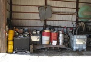 Agricultural Waste Storage
