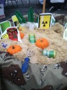 Mundell toxic waste dig at Irvington Halloween festival