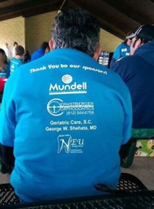 Mundell & Associates as Walkathon Sponsor