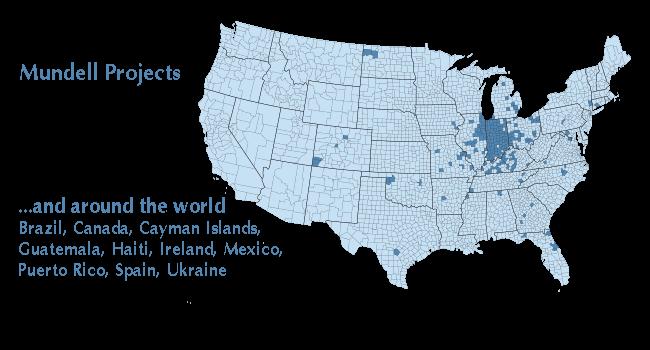 Mundell Map