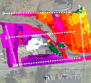 GEM-2 Electrical Resistivity Map