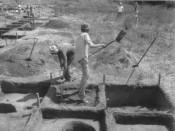 John Mundell on the job site in the 1970's