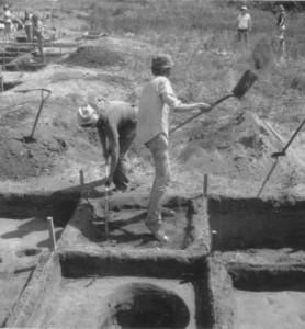 John Mundell's Arcaheological Dig 1974