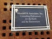 Mundell & Associates Cityscape plaque