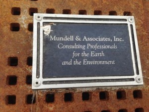 Mundell & Associates Cityscape plaque