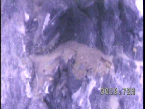 bedrock fracture from borehole camera