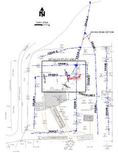 Migration pathways using EM-31 terrain conductivity data.