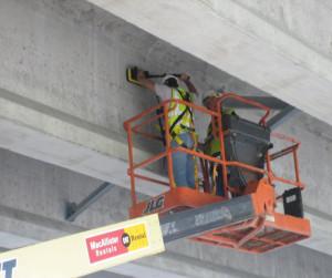 Concrete Bridge Examination with GPR
