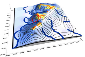 3D Groundwater Elevation