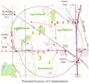 IDEM Wellhead Protection Planning Map