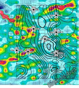 Geophysical Survey Map