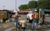Investigation at Chlorinated Solvent Site