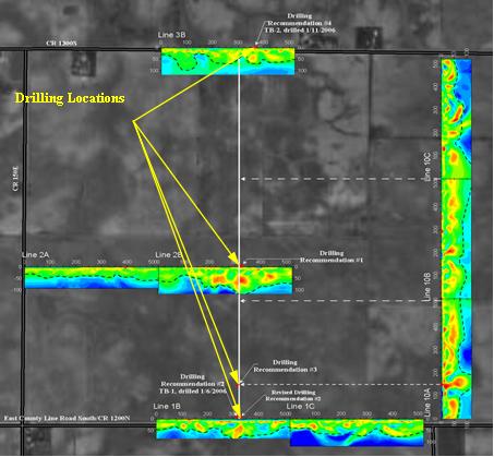 Ethanol Plant Resistivty Summary Map
