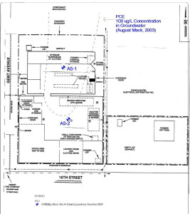 Indoor Air Sampling and Mitigation - site map