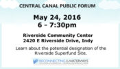 ROW Hosts Central Canal Public Forum on Superfund Site